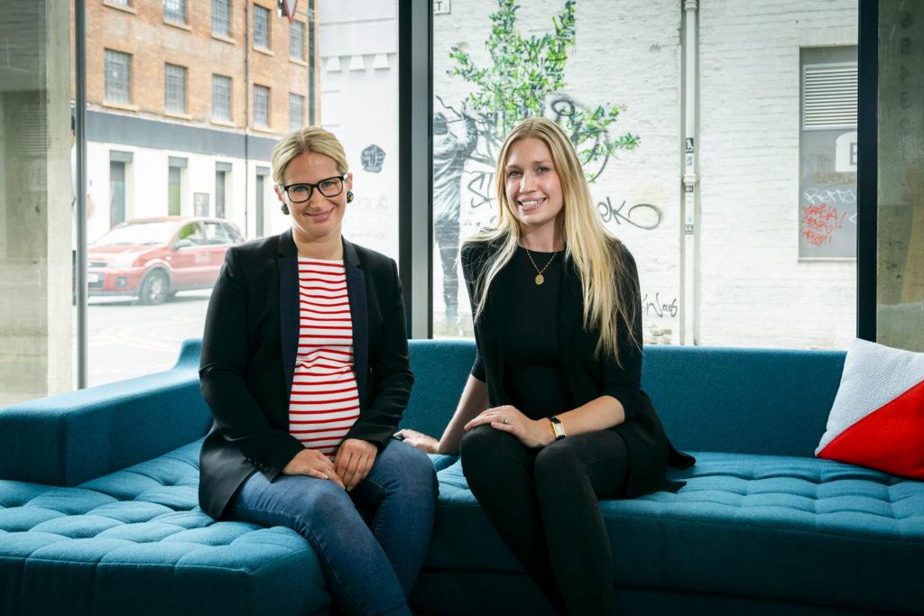 New Leadership team - Fritzi Wemheuer and Kate Jones