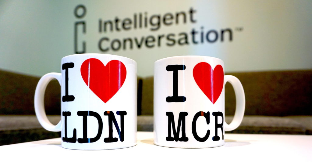 We love Manchester and London mugs